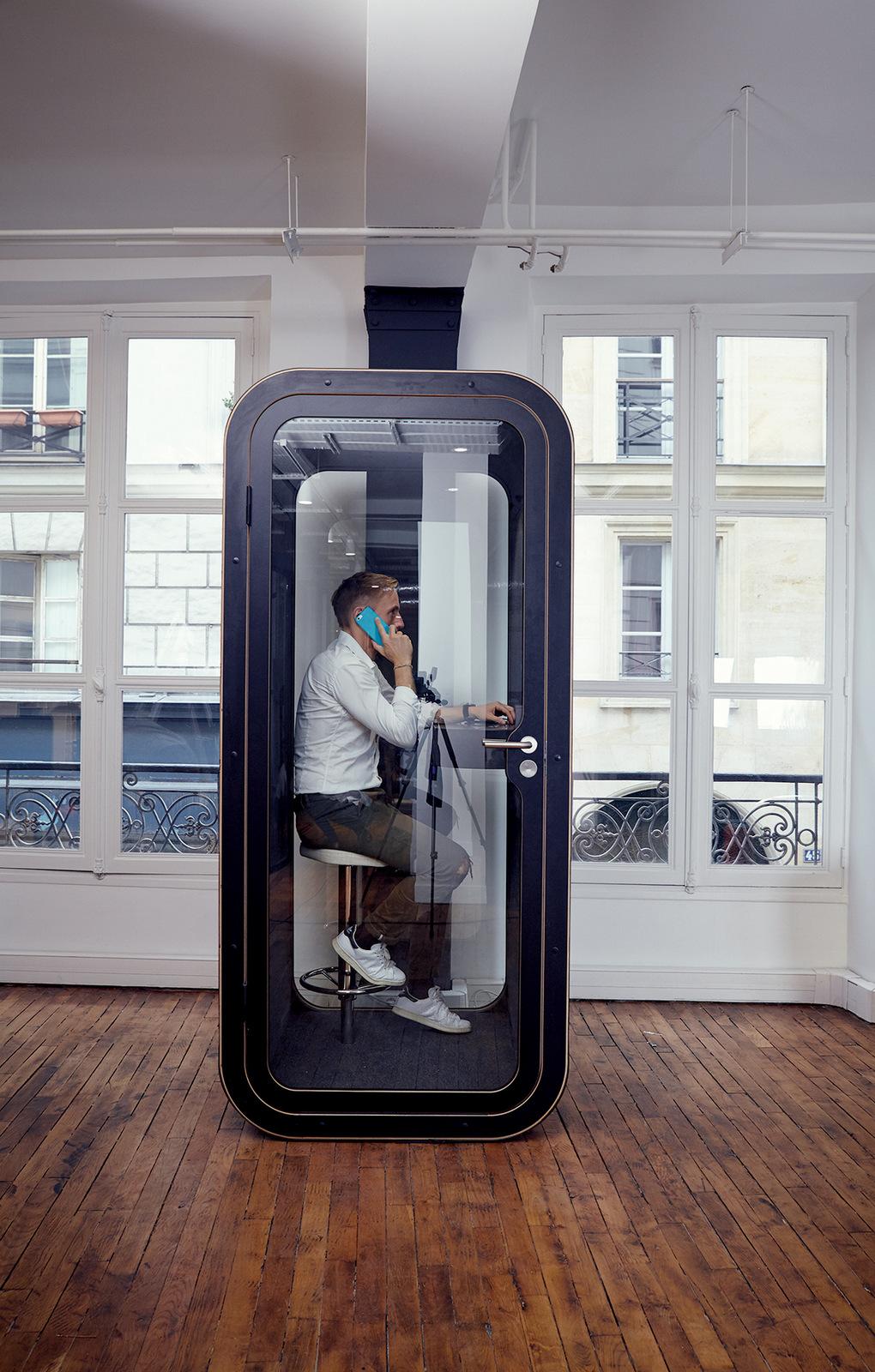 Vario Buroeinrichtungen Comeback Der Telefonzelle Zuruck In Die