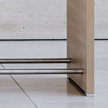 CONCLUSION counter-height table footrest